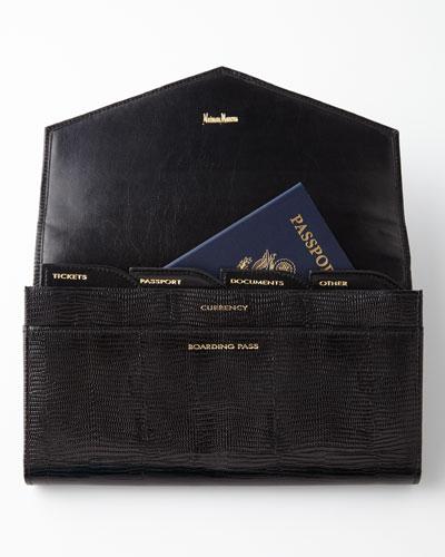 NM EXCLUSIVE Black Travel Wallet