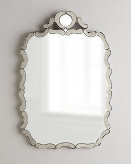 NM EXCLUSIVE Antiqued Nicole Mirror