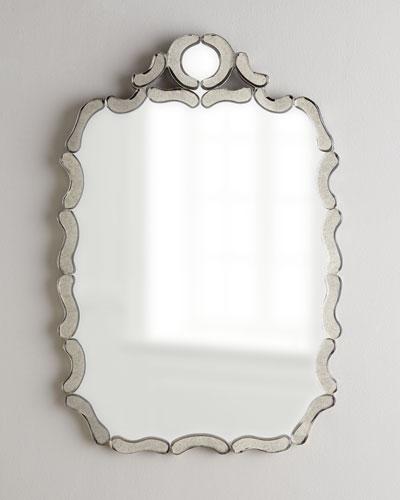 NM EXCLUSIVE Antiqued Nicole Mirror