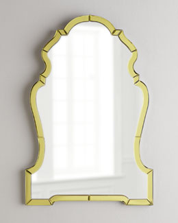 NM EXCLUSIVE Golden Mirror-Framed  Mirror