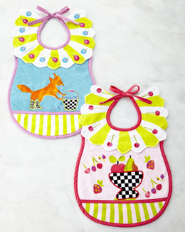 MacKenzie-Childs Toddler's Bib