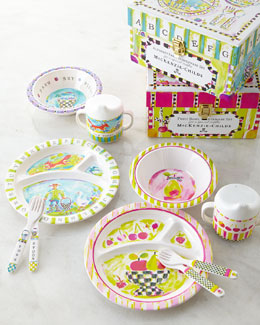 MacKenzie-Childs Toddler's Dinnerware Set