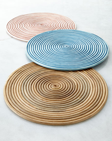 Coiled Rattan Placemat