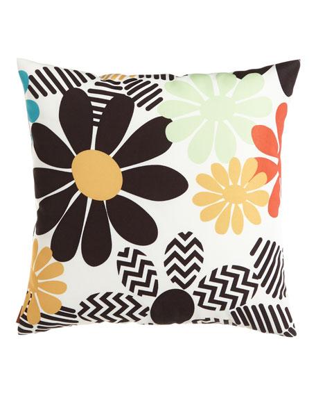 Olvera Floral Outdoor Pillow