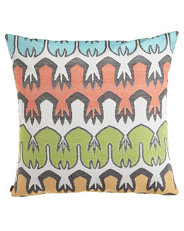 Missoni Home Collection Oviedo Tribal Outdoor Pillow