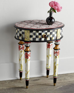 MacKenzie-Childs Petite Poppy Table
