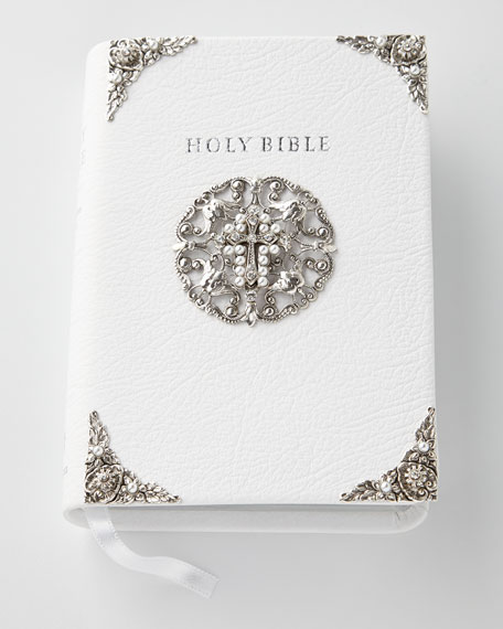 Kimberly Wolcott Designs Embellished King James Bible