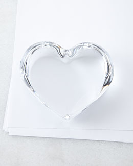 Heart Paperweight