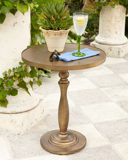 Sophia Outdoor Pedestal Table