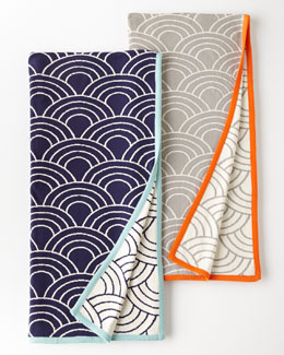 Jonathan Adler Scales Knit Throw