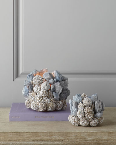 Kathryn McCoy Design Large Desert Rose Votive Holder