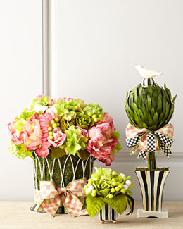 MacKenzie-Childs Large Blushing Centerpiece