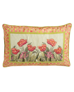 MacKenzie-Childs Tulip Lumbar Pillow