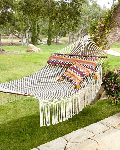 mackenzie childs courtly check hammock  rh   neimanmarcus
