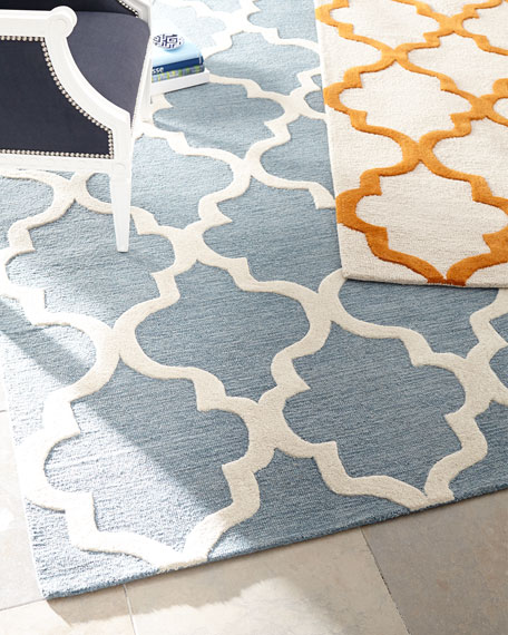 Geo Medallion Rug & Matching Items