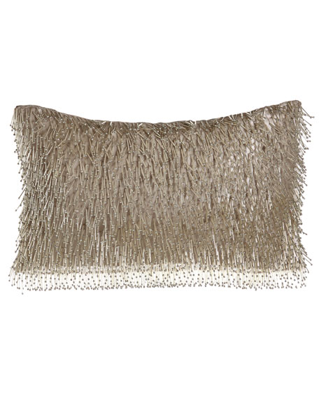 Aviva Stanoff Thalassa Beaded Pillow