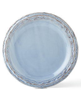 Pimpinelli Four Chambray Salad Plates