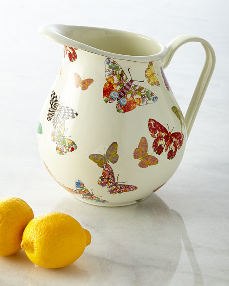 MacKenzie-Childs Butterfly Garden Pitcher