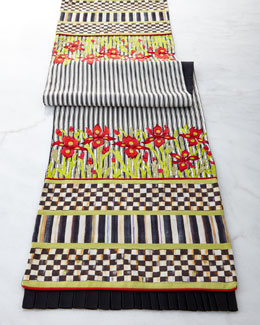 MacKenzie-Childs Iris Table Runner