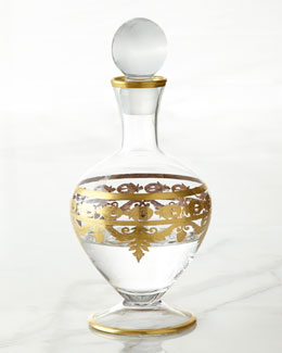Arte Italica Vetro Gold Decanter