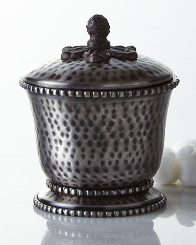 GG Collection Hammered Lidded Canister