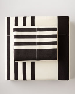 Ralph Lauren Home Queen Striped Flat Sheet