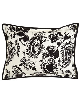 Ralph Lauren Home Standard Paisley Sham with Flange