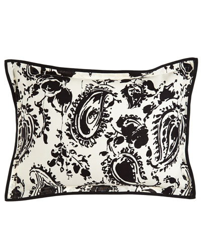 Ralph Lauren Home King Paisley Sham with Flange