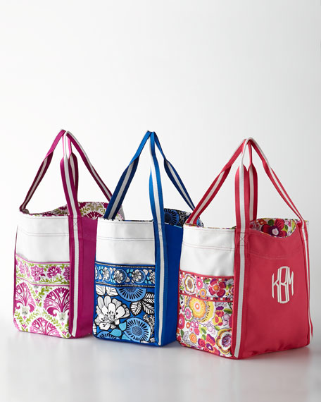 c988709ad850 Vera Bradley Personalized Large Colorblock Tote. Personalized Large  Colorblock Tote