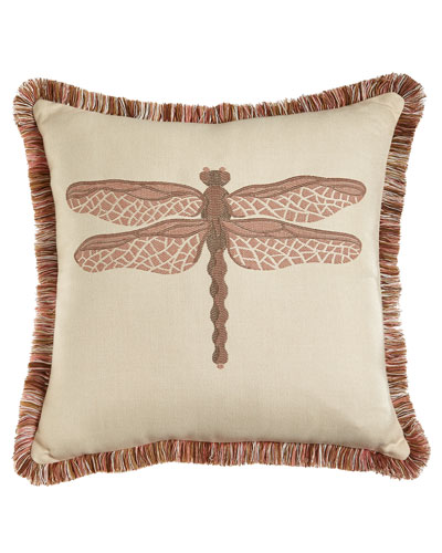 ELAINE SMITH Dragonfly Pillow
