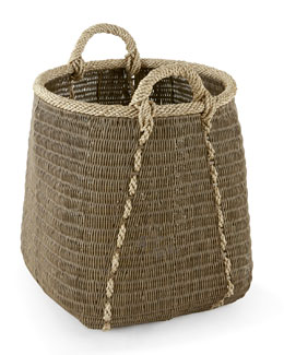 Tall Rattan Basket
