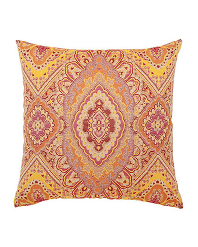 ELAINE SMITH Sorbet Medallion Pillow