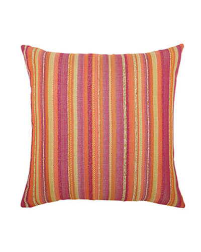 ELAINE SMITH Sorbet Stripe Pillow