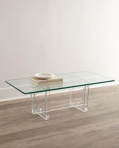 Aldon Acrylic Coffee Table