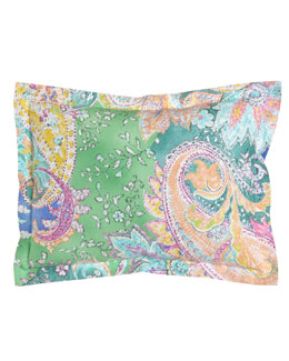 "Ralph Lauren Home Paisley Pillow, 12"" x 16"""