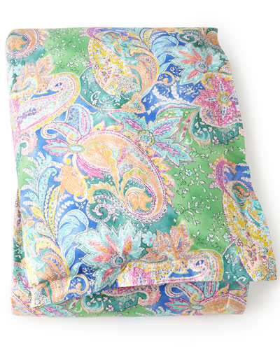 "Ralph Lauren Home Full/Queen Paisley Comforter, 94"" x 96"""