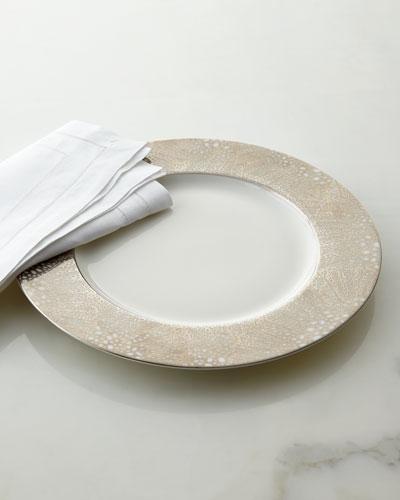 Caskata Sea Fan Charger Plate
