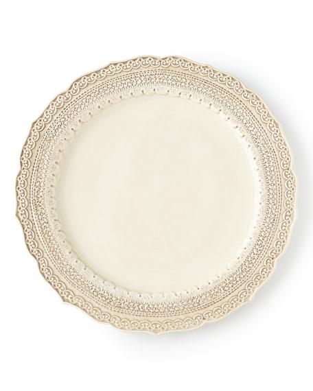 Arte Italica Finezza Cream Dinner Plate