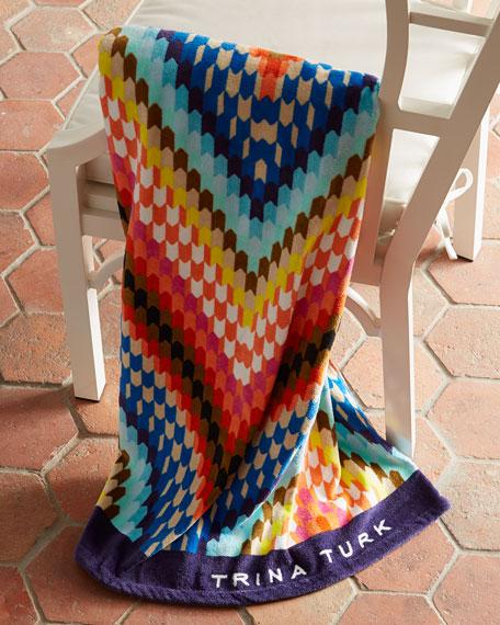 Trina Turk Sunset Beach Towel
