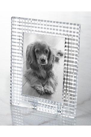 "Baccarat Eye Photo Frame, Clear - 5"" x 7"""