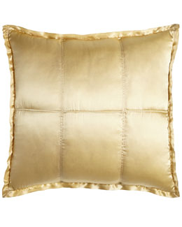 Donna Karan Home Quilted European Sham