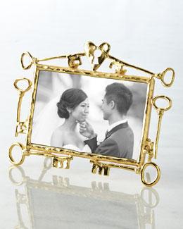 "Michael Aram Key to My Heart 4"" x 6"" Frame"
