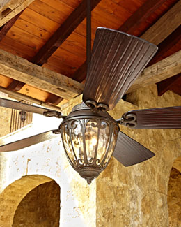 "ELLINGTON/LITEX 70"" Scandia Outdoor Ceiling Fan"