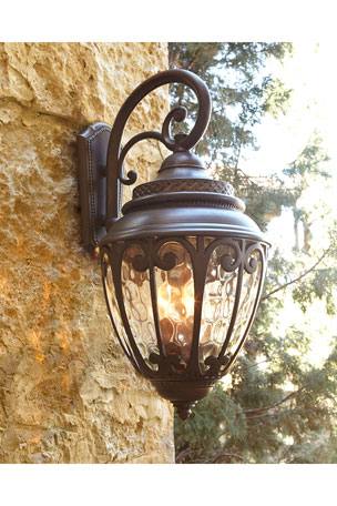 Scandia Outdoor Lantern Sconce