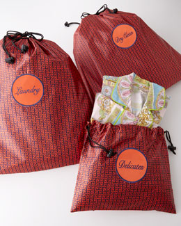 Mykonos Three-Piece Travel Laundry Bags