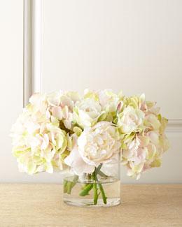 John-Richard Collection Amour Pastel Faux Flowers