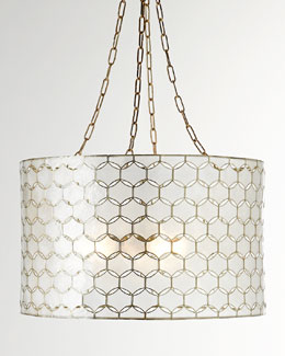Felicity Capiz Pendant Light