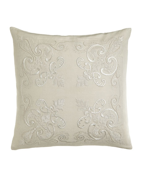 "Imperia Pillow, 22""Sq."