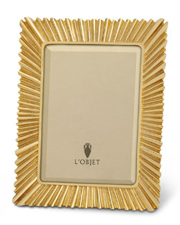 "L'Objet Ray Gold-Plated 5"" x 7"" Frame"