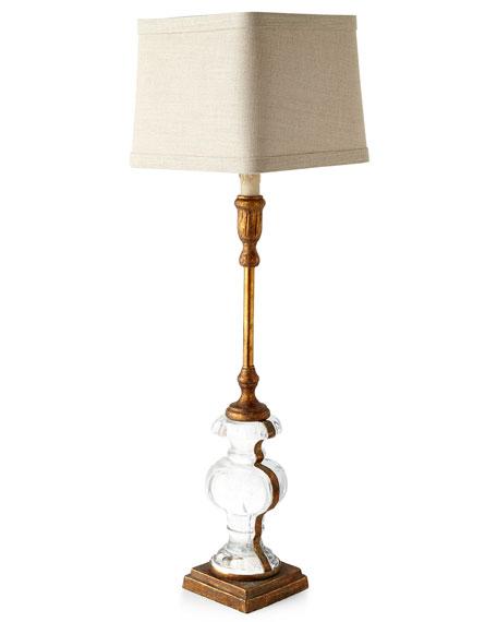 Andrea Glass Buffet Lamp